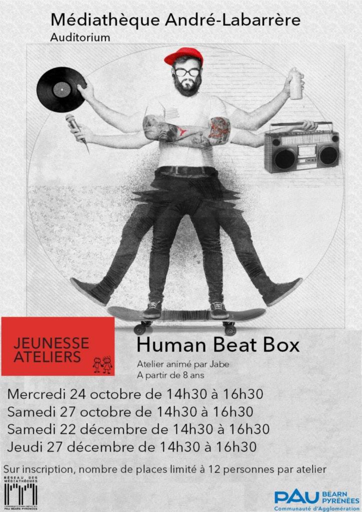Médiathèque Andre Labarrère Atelier Human Beatbox